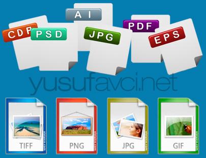 Tasarım dosya uzantıları