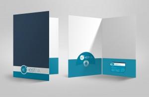 hosteva cepli dosya mockup tasarımı