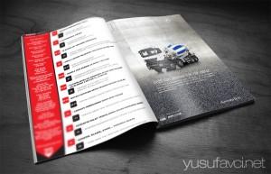 Sektörel dergi tasarımı