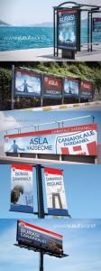 Çanakkale Dardanel Durak ve Billboard Tasarımları