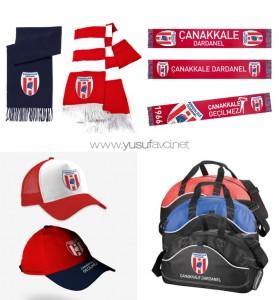 Çanakkale Dardanel Şapka Atkı Çanta Tasarımı