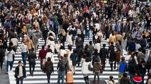 Milyonlarca insan Kalabalık İnsan