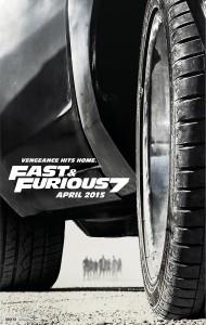 Hızlı ve Öfkeli Furious 7 İzle Posteri