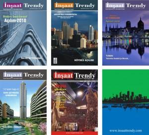 Sektörel dergi tasarımları