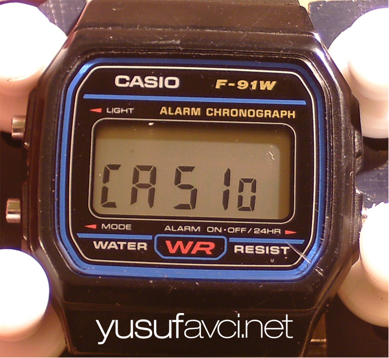 Casio F91W Saat Orjinal olup olmadığını