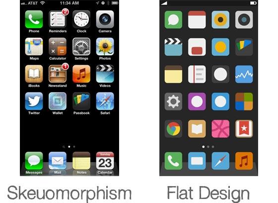 Skeuomorphism tasarım nedir Skeuomorphism tasarım örnekleri