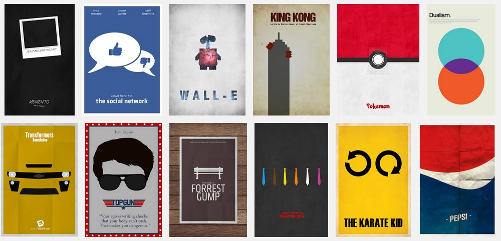 Minimal afiş poster tasarımı minimal tasarım nedir